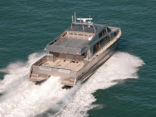 Grey heron auckland luxury charter boat high speed 16m for Outboard motors for sale nz