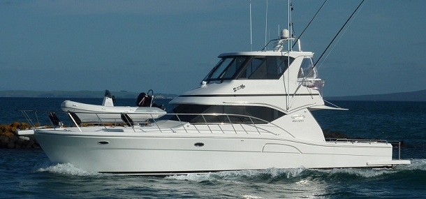 Exodus charters auckland s luxury charter boat marine for Luxury fishing boats