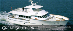 Great Southern Luxury Charter Boat Auckland