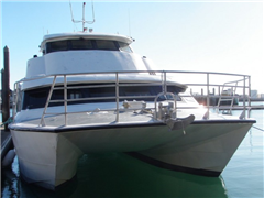 58FT ALLOY CAT - SURVEYED FOR 49 - BUSY AUCKLAND CHARTER BOAT FOR SALE