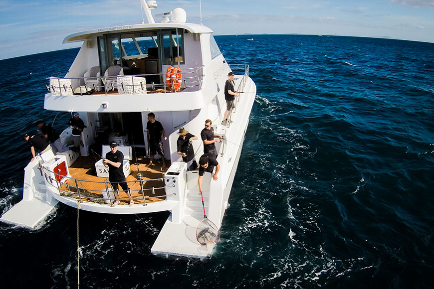 Savoy charters auckland charter boat marine directory for Fishing charters auckland