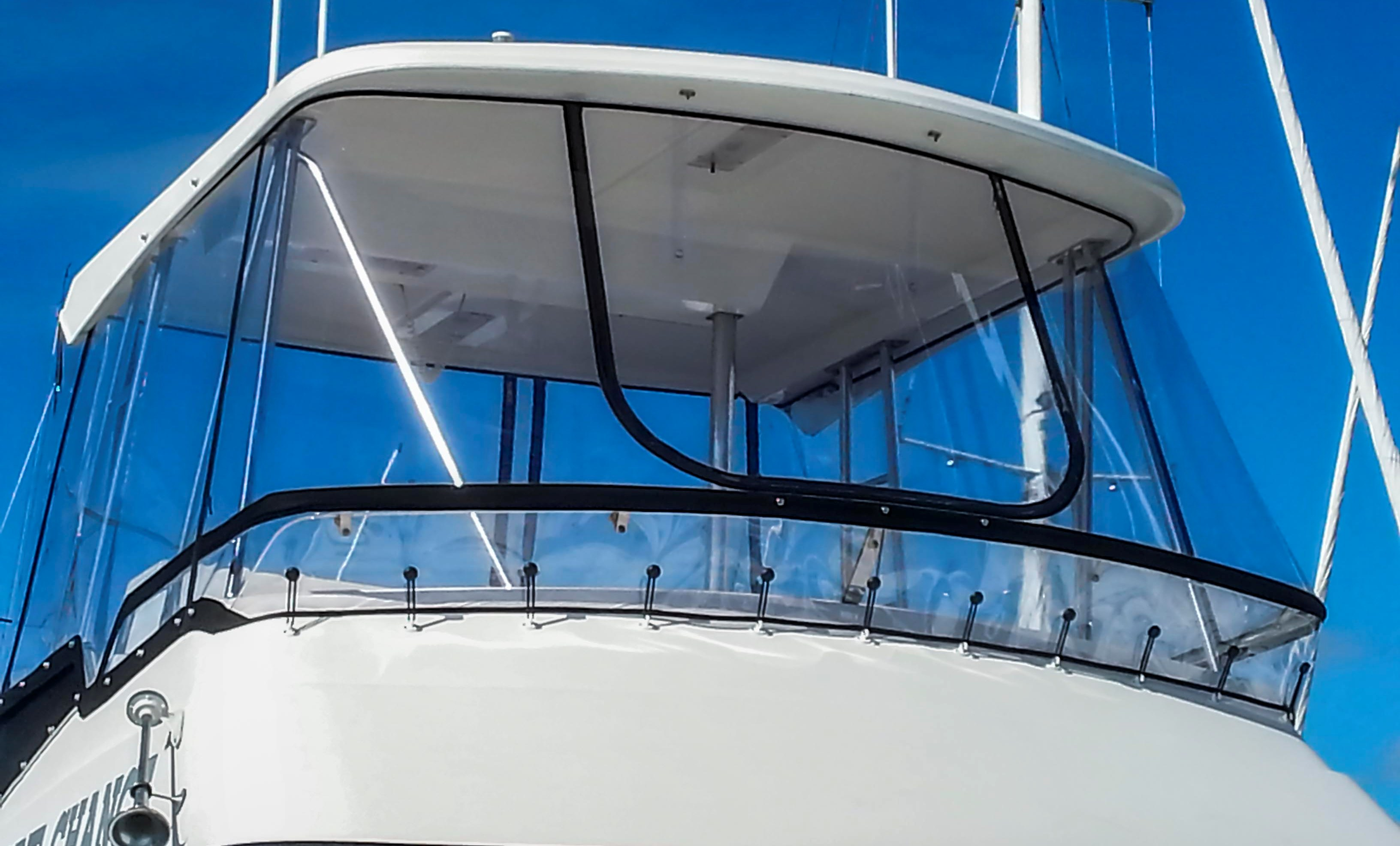 West Auckland Upholstery Boat Covers Clears And